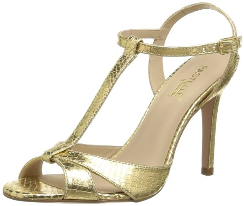 Pastelle Women's Saraya Fashion Sandals Gold Or (Python Or) 7 (41 EU)