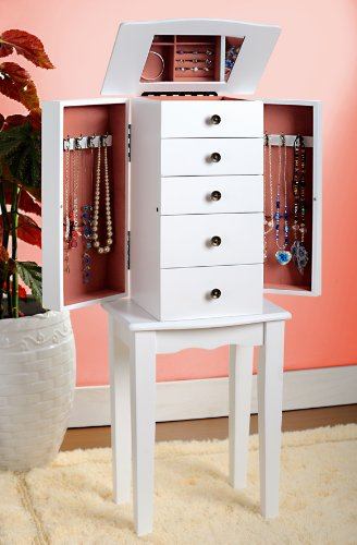 Buy Cheap White Jewelry Armoire Chest