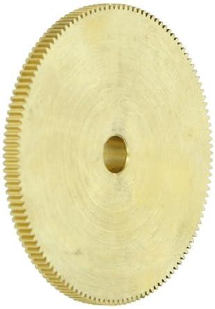 """Brass Pinion Gear 64P 20 Deg Pressure Angle 128Teeth x .250"""" Bore x 2.000"""" Pitch Dia"""