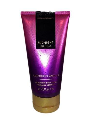 Victoria's Secret MIDNIGHT EXOTICS FOEBIDDEN VANILLA BODY SCRUBスクラブ 並行輸入