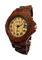 Tense Ladies Sandalwood Wood Sports Watch L4100S