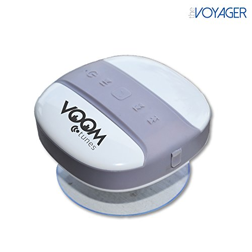 Bluetooth Shower Speaker By Voomtunes   Iphone And Android Compatible   Portable Handsfree Speakerphone   Free Satisfaction Guarantee   The Voyager   The Ultimate Bluetooth Speaker Portable   All Iphones Work With This Bluetooth Shower Speaker   Brand New