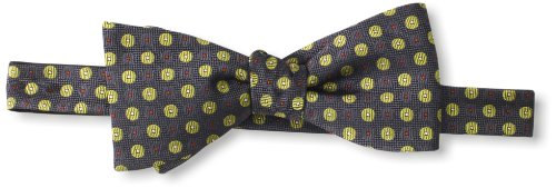 Ben Sherman Men's Giles Dot Bow Tie, Yellow, One Size