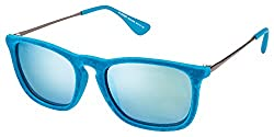Vincent Chase Wayfarer Sunglasses Blue Mirror (95216)