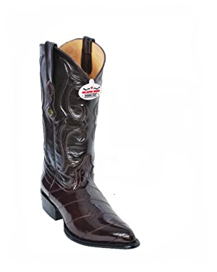 Los Altos Mens Eel Skin Cowboy Boots J Toe