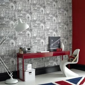 Graham and Brown Londinium Wallpaper by New A-Brend
