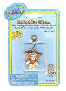 Webkinz Poncho Chihuahua Charm - 1