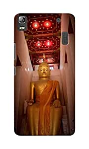 CimaCase Lord Buddha Designer 3D Printed Case Cover For Lenovo K3 Note