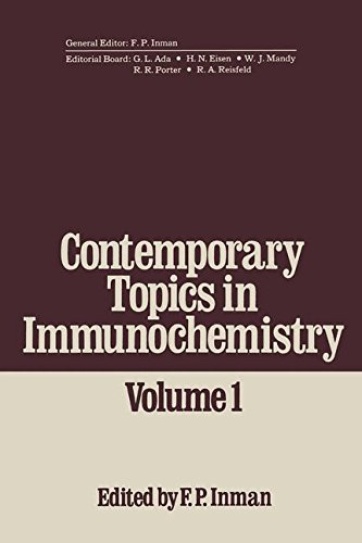 Contemporary Topics In Immunochemistry: Volume 1