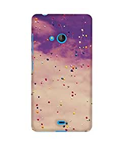 Pick Pattern Back Cover for Microsoft Lumia 540 (Matte)