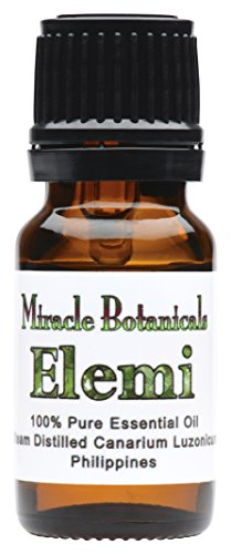 Miracle Botanicals Elemi Essential Oil - 100% Pure Canarium Luzonicum - Therapeutic Grade - 10ml