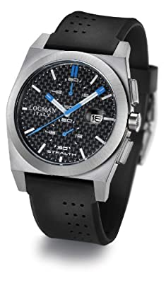 Locman Oversize Stealth Chrono Watch