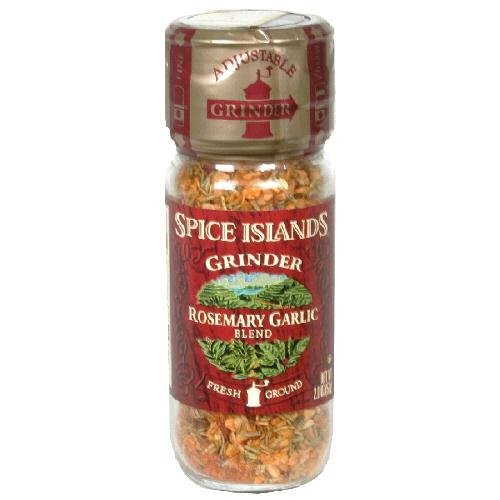 Spice Islands Grinder (Pack of 3) Choose Flavor Below (Rosemary Garlic Blend 2oz) (Spice Islands Grinder compare prices)