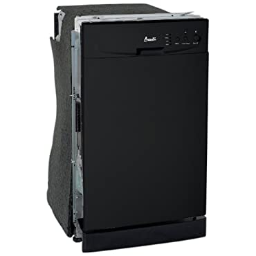 Avanti DWE1801B Built-In Dishwasher, Black