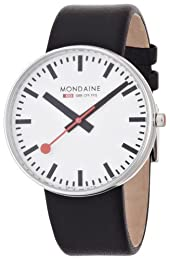Mondaine Giant Size Analogue strap watch