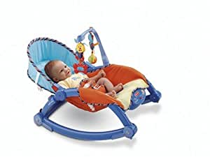Fisher-Price Newborn-To-Toddler Rocker, Animal Fun