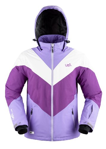 Urban Beach Women's Arrow Winter Ski Snowboard Jacket Small Lilac
