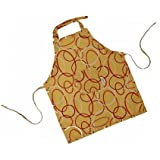Child's Chef's Apron - Yellow Orbit