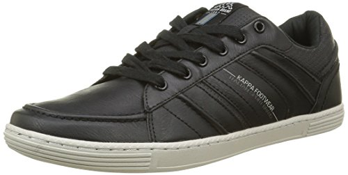 kappa-boomer-sneakers-basses-homme-noir-black-real-teal-rainy-day-43-eu