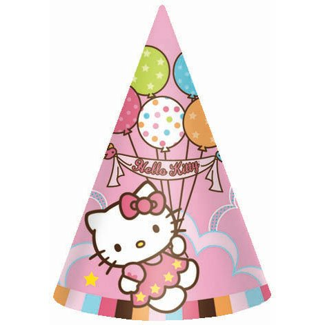AMSCAN INC. Hello Kitty Party Hats