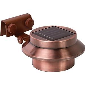 Rethink 155015 Multi-Purpose Gutter/Fence Solar Light, 2-Pack