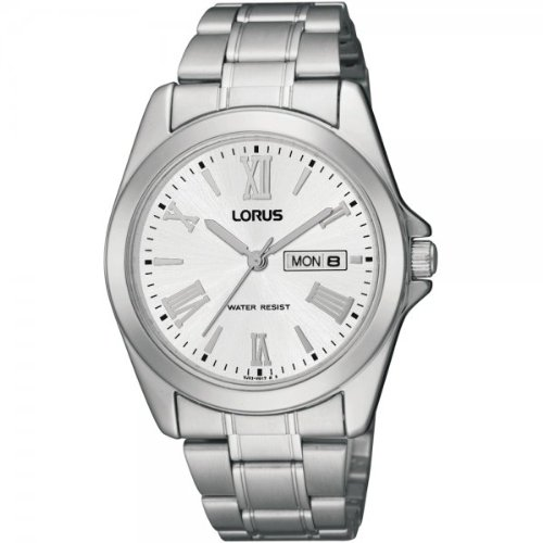 Lorus RJ639AX9 Mens White Steel Watch