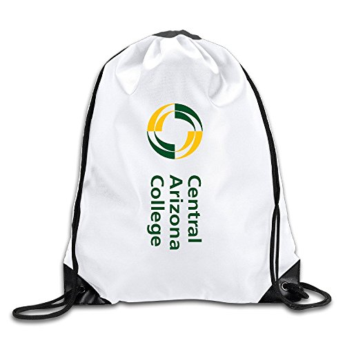 Central Arizona College Lightweight Drawstring Pouch Backpack White Size One Size (Arizona Central compare prices)