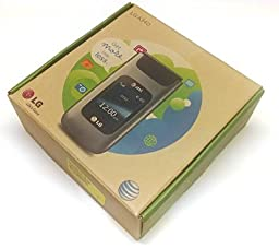 LG A340 Unlocked GSM Flip Phone w/ 1.3MP Camera and Bluetooth - Gray