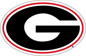 "Georgia Bulldogs 12"" Vinyl Magnet Set Of 2 - Magnet Georgia G"""""