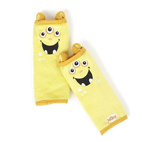 Nuby Monster Strap Covers, Yellow