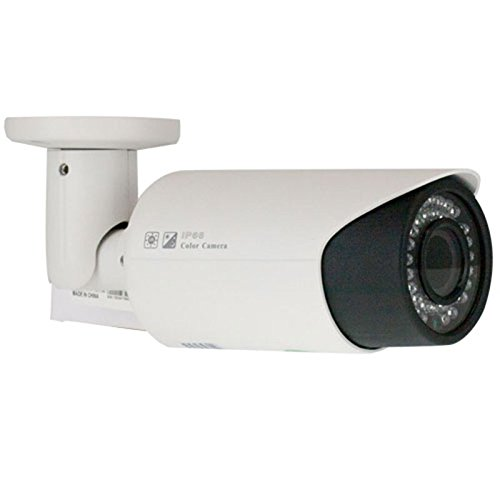 Gw Security Inc Gw-808H-Vd 1/3-Inch Sony Cmos Surveillance Security Camera 1000 Tv Lines, 2.8 To 12Mm Lens, 42 Pieces Infrared Led And 114-Feet Ir