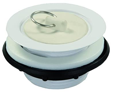 JR Products Plastic Strainer with Rubber Stopper