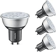 Comprar Philips 45709200 GU10 4,3 W 2700 K clase energética A + + Master LED foco de nuestros clientes son una intensidad regulable, 4 unidades, luz blanca cálida