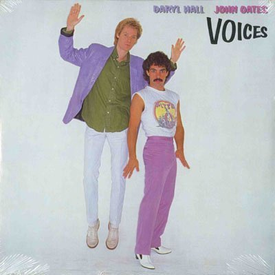 Original album cover of Voices LP by HALL & OATES