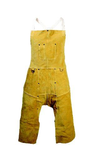 Caiman 3242 42-Inch Split Leg Apron with Bib Pockets