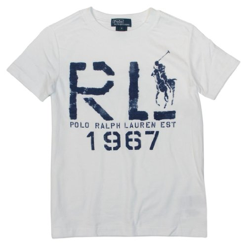Polo Ralph Lauren Boys Big Pony Graphic T-Shirt - 24M - White