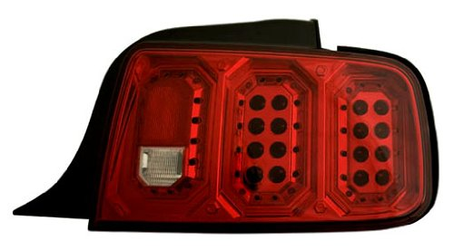 Ipcw Ledt-522Cr Ruby Red Led Tail Lamp - Pair