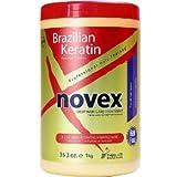 Embelleze Novex Brazilian Keratin Hair Care Treatment Cream - 35.3 Oz   Embelleze Novex Creme de Tratamento Capilar com Queratina Brasileira - 1Kg