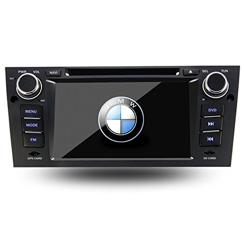 "Eforce 7"" Android 4.2.2 Car Dvd Player For Bmw E90 E91 E92 Gps/Bluetooth/Sd/Usb/Fm/Am Radio 7 Inch Capacitive Hd Touch Screen Stereo In-Dash Navigation"