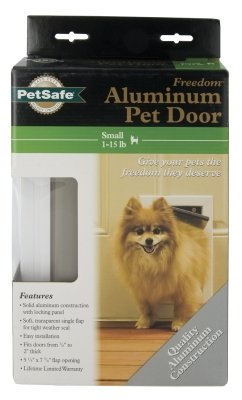 Brand New, RADIO SYSTEMS CORP. (PET SAFE) - FREEDOM DOOR REPLACEMENT FLAP (SMALL WHITE) (DOG PRODUCTS - DOG CONTAINMENT - DOORS)