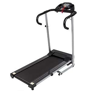 Black 500W Portable Folding Electric Motorized Treadmill