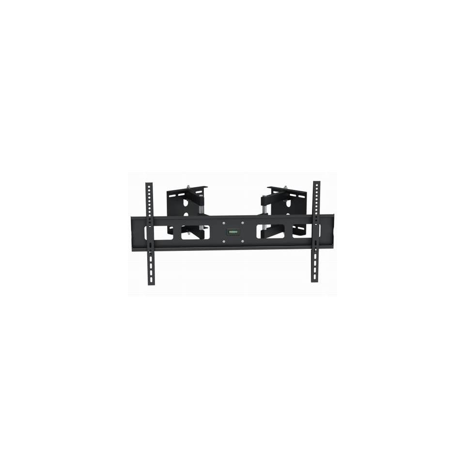 InstallerParts Flat TV Corner Mount 37~63 Black    For LCD LED Plasma TV Flat Panel Displays    Articulating Dual Arm Full Mount Wall Bracket