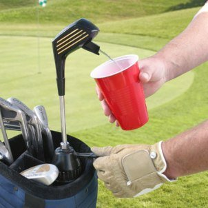 Kooler Klub Golf Club Drink Dispenser Flask