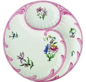 Abigails Floral Artichoke Plate
