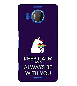 EPICCASE keep calm Mobile Back Case Cover For Microsoft Lumia 950 XL (Designer Case)