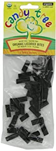 Candy Tree Organic Licorice Bites, 2.6-Ounce Packages (Pack of 12)