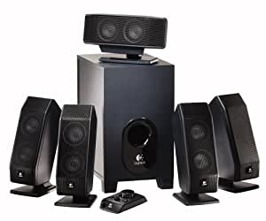 Logitech X-540 5.1 Surround Sound Speaker System with Subwoofer