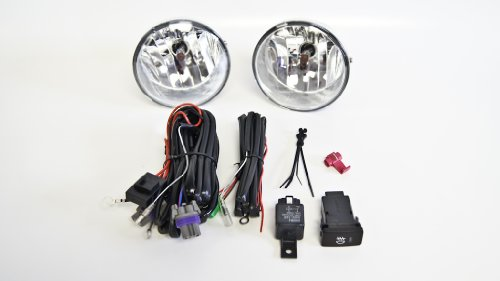 Fog Lights / Lamps Kit Oem Replacement For Toyota Tacoma (Fl-Ty056-Ac3)
