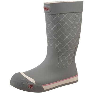 Keen Women's Coronado Waterproof Rain Boot,Neutral Gray,10.5 M US