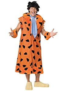 Adult Deluxe Fred Flintstone Costume Medium